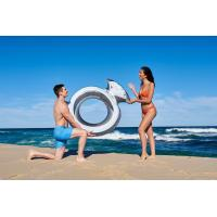 Buy cheap Inflatable Giant Diamond Ring Metallic Pool Float Toy Summer Raft Airbed Lounge from wholesalers