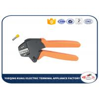 China Terminal Cable Crimping Tool Insulated And Insulated Ferrule Crimping Tool Plier VH1-06WF wholesale
