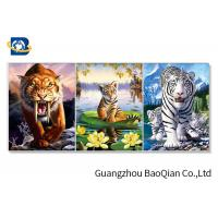 China images Change Effect 3D Lenticular Flips Picture With Lion / Tiger Animal wholesale