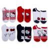 China Cute Cartoon Hello Kitty Women's Low-Cut Cotton Socks wholesale