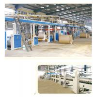 China WJ100-1800 Five layers corrugated board production line wholesale