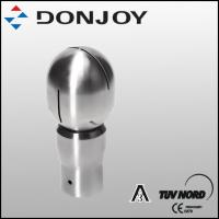 China Fermentation Round Rotary  Stainless Steel Spray Ball Clamp Pin Connection wholesale