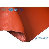 China 0.5mm Waterproof Silicone Coated Fiberglass Fabric wholesale