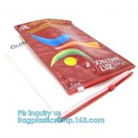 China Custom Slider Reclosable Bags 200 Mics Frosted Travel PVC Vinyl Toiletry wholesale