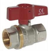 China full port brass ball valves FF,T handle,hot forged body wholesale
