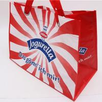 China Eco friendly Large Non Woven Laminated Tote Bags With Handle Carrier Shopping Advertising wholesale