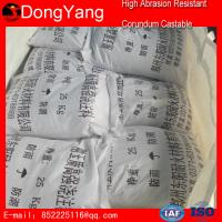 China Refractory Castable Refractory Material Refractory High Abrasion Resistant Corundum Castable on sale