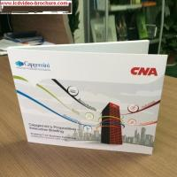 China 4.3inch New Video Brochure Cards for Presentations Digital Advertising Player , matte Cover wholesale