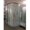 China design glass  Corner Shower Enclosures square shower stall stripe glass 80x80X195/cm wholesale