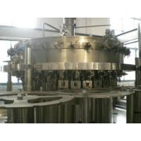 China Stainless Steel Carbonated Beverage Filling Machine 3 In 1 32 Washing Heads wholesale