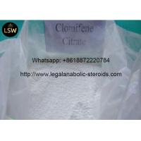 China Pharmaceutical Intermediate Anti Estrogen Steroids Clomiphene Citrate Powder Treating Female wholesale