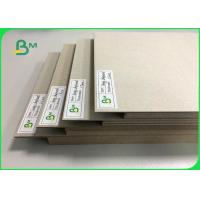 China 0.5mm To 3mm FSC Certified Laminated Grey Board Carton Gris For Book Binding Board Arch Lever Files wholesale