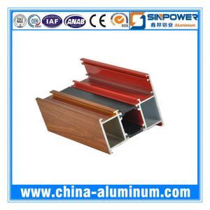 China Extruded Thermal Break Aluminum Profile for Sliding Window China wholesale