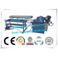 China Industry Orbital Tube Welding Machine , Spiral Duct Making And Forming Production Line wholesale