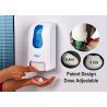 China Wall mounted foam soap dispenser , Hand Press Plastic Foaming Soap Dispenser wholesale