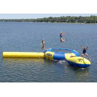 China Rave 15' Aqua Jump Eclipse 150 Water Park, Northwoods Edition , Inflatable Water Games wholesale
