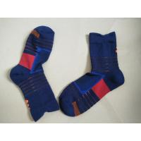 China Cool Basketball Custom Cotton Sports Socks / Knitting Compression Socks For Men wholesale