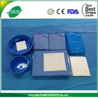China SMS Disposable EO sterile angiography surgical packs, angio Kits wholesale