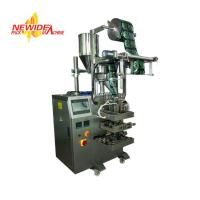 China Vertical 4 Side Sealing 5-300ml Coffee Packaging Machine With Volumetric Cup wholesale