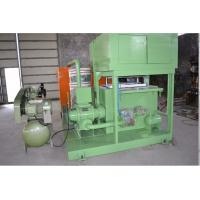 China Processing Type Egg Tray Machine , Paper Pulp Molding Machine With Drying System on sale