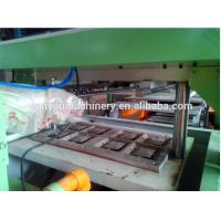 China Low Noise Paper Egg Tray Machine , Egg Box Making Machine Paper Apple Tray Making wholesale