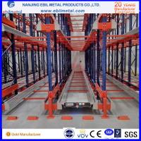 High storage efficiency warehouse radio shuttle pallet rack various color are available Manufactures