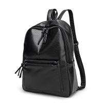 China 2017 Design PU Leather Women Backpacks For Teenage Girls School Bags Black Summer Vintage Backpack Mochilas Mujer wholesale