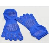 China OEM Eco-Friendly Softness Sporty Five Toe Sock, Blue Yoga Non-slip Socks For Boys wholesale