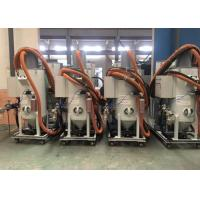 China Dustless Vacuum Blasting Machine 20m Hose For Cleaning Oil Pipe 600kg Weight on sale