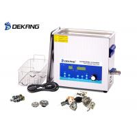 China Low Noise 10L Ultrasonic Cleaning Bath  Power Adjustable  With Sweep  Degass wholesale