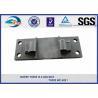 China Railway Cast Iron Base Sole Rail road Plates Steel Tie Plate wholesale