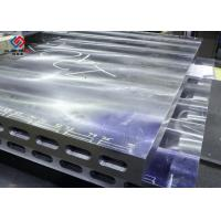 China Laminating hard board Electric Heated Platens / Hot Platen For Plywood Press wholesale