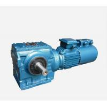 China Horizontal Worm Speed Reducer Easy Mounted HBS190 - 240 Housing Hardness wholesale