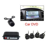 China Car Video Backup Parking Radar Sensor , Rear Parking Sensors With Camera wholesale