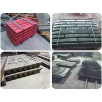 High Chrome Steel Jaw Crusher Spare Parts Swing Jaw Plate Sandvik Wear Parts