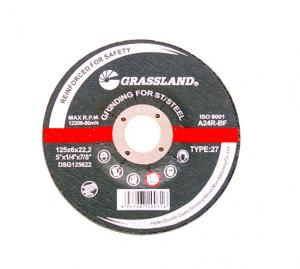 China Grassland 125X6mm Stainless Steel Grinding Cut Off Wheels wholesale
