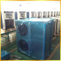 China Air Conditioning Heating And Cooling Heat Pump , Floor Heating Air Source Heat Pump EN14511 wholesale