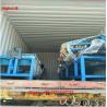 China 2m-4m Width Full Automatic 2 Wire Feeding Diamond Fence Roll Mesh Machine wholesale