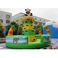 Buy cheap Commercial Grade Inflatable Rock Climbing Wall / Monkey Jungle Inflatable from wholesalers