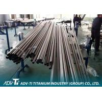 China CP Alloy Welding Titanium Pipe ASTM B337 for Condensor Application wholesale