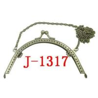 Quality J-1317 Hardware Purse Handle with Chain for sale