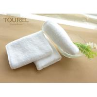China Soft Comfortable Cotton Hotel Face Towel Anti Bacteria Plain Standard Textile Towels wholesale