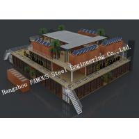 China Customized Modular Prefab Container House For Shopping Center or Coffee Bar wholesale