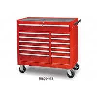 China Mobile Middle Metal Stainless Steel Roller Chest Tool Boxes Heavy Gauge Custom Color wholesale