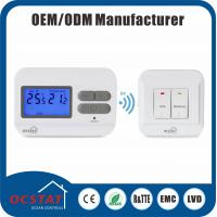 China Digital HVAC RF Thermostat 868MHZ Radio Frequency Thermostat For Air Conditioning System wholesale