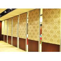 China One Way Sliding Partition Wall Movable Partition Walls Folding Partition Door wholesale