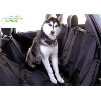 China Custom Printed Pet Car Accessories Dog Car Seat Covers For Honda / Ford on sale