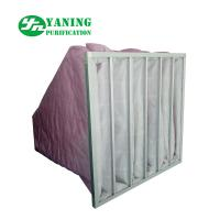Buy cheap HVAC System Polyester Pocket Air Filter Bag M6-M9 3200m³/h Air Volume Galvanized from wholesalers