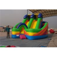 China Commercial Inflatable Water Slides For Toddlers Screen Print  / Hand Painting on sale