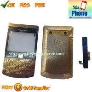 China Blackberry Porsche Design 9981 Gold Diamond Full Housing Cover wholesale